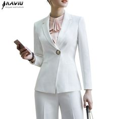 Back To Search Resultswomen's Clothing Rapture Ladies Pant Suits Women Business Formal Office Suits Work Wear Custom Made Royal Blue Elegant Ol Style Uniform Pantsuits Suits & Sets