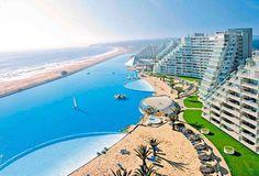 piscina più grande del mondo 1.1 km