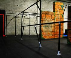 Freerunning Structure at Miami Freerunning (made with Kee Klamp)