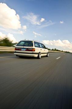 Slammed VW Passat Wagon | passat vw wagon reviews passatvolkswagen passat vw wagon ...