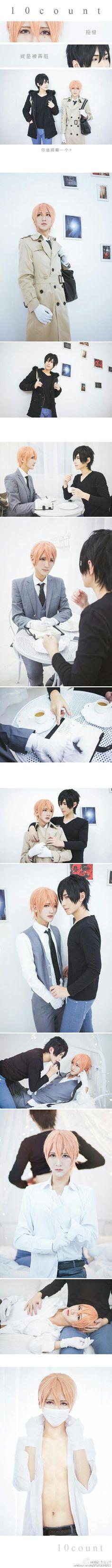 TEN COUNT COSPLAY -  • Riku Kurose : Baozi • Tadaomi Shirotani : Hana  • テンカウント • Takarai Rihito