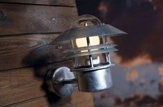 Blokhus Outdoor Wall Lamp - Galvanised Steel
