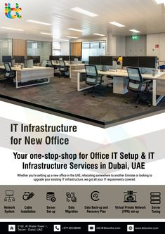 IBT IT experts are able to predict technology and market shifts successfully, and accordingly provide a responsive and scalable IT Infrastructure, while simultaneously simplifying complexity and bringing down costs. Innovation Strategy, Network Cable, Uae, Home Office, Magazine, Technology, Interior, Ideas, Design