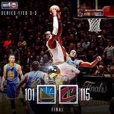 2016/06/17 13:23:48  mrporter__  Game 7  #lebronjames#kingjames#striveforgreatness#nba#nbatv#ballislife#espn#nbaplayoffs#playoffs#tiedgame#cavs#cavsnation#allin#216#cleveland#cavaliers#theland#nbafinals#mrporter#ualreadyknow