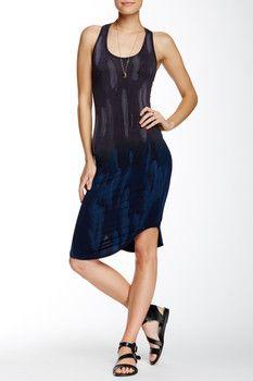 American Twist Rounded Tie Dye Dress