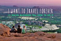 I want to travel the world for the rest of my life - 15 Travel Bloggers tell how to do it... Photo taken in Hampi, Karnataka, India. 2013 © Sabrina Iovino   JustOneWayTicket.com