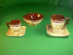 Ceramica Pigmentos: JUEGO CUADRADO Bowls, Pudding, Desserts, Food, Sugar Bowls, Dishes, Games, Pants, Serving Bowls