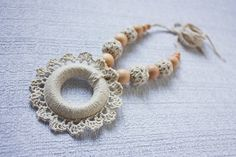 Teething necklace/ Nursing necklace for Mommy by NecklacesForMommy, $23.00