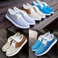 Men's Breathable Mesh Shoes Canvas Lo...