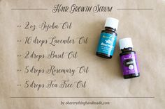DIY Essential Oil Hair Growth Serum - Oh Everything Handmade hair growth DIY Essential Oil Hair Growth Serum Essential Oils For Hair, Young Living Essential Oils, Essential Oil Blends, Cedarwood Essential Oil Uses, Young Living Hair, Oil For Hair Loss, Oil For Hair Growth, Fast Hair Growth, Hair Essentials