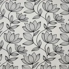 """Collection: COLOR WAVES-DOMINO EFFECT Width: 58.25E53.5Repeat: V-15.4""""H-18"""" Content: 80% POLYESTER/20% LINEN - EMB.-100% POLYESTER Maxwell Fabric Border Embroidery Designs, Floral Embroidery Patterns, Embroidery Motifs, Textile Patterns, Flower Pattern Drawing, Floral Drawing, Flower Outline, Flower Pattern Design, Flower Patterns"""