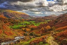 Autumn is here. Lake District