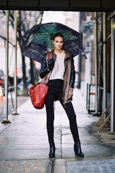 Cuando llueve no pierdas el estilo