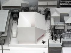 Kumiko Inui - House O, Tokyo, 2009 - Festim Toshi Japanese Architecture, Architecture Drawings, Interior Architecture, Architecture Sections, Geometry Architecture, Light Architecture, Contemporary Architecture, Arch Model, Small Buildings