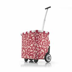Wózek na zakupy Reisenthel Carrycruiser 40l, baroque ruby | sklep z upominkami PrezentBox