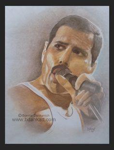Freddie Mercury by bdank.deviantart.com on @DeviantArt