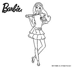 barbie fashion dibujo grande  Buscar con Google  barbies