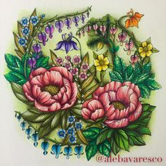 Image result for coloring examples twilight garden