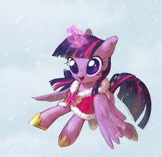 Twilight Sparkle and Winter by Uher0.deviantart.com on @deviantART