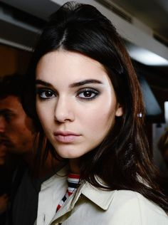 Backstage at Sonia Rykiel SS15 #makeup