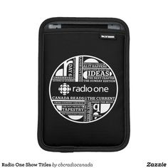 Radio One Show Titles iPad Mini Sleeves