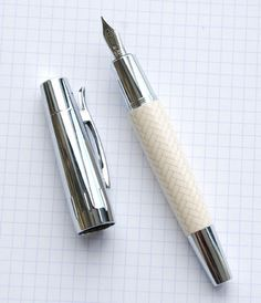 I really want this Faber-Castell Design Fountain Pen!