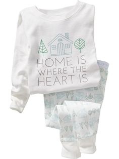 """Home"" Sleep Sets for Baby"