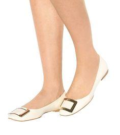 1caf72b2767 Belle Vivier leather ballerinas