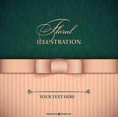 Floral vector card - Freepik.com-Invitations-pin-37