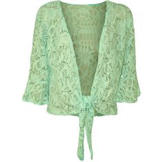 Carina Floral Lace Top ($22) ❤ liked on Polyvore featuring tops, mint green, bell sleeve top, green top, womens plus tops, night out tops y plus size tops