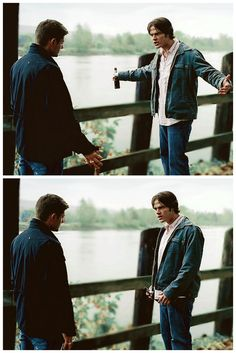 I love Sam's 'come at me bro' stance whenever he's arguing with Dean