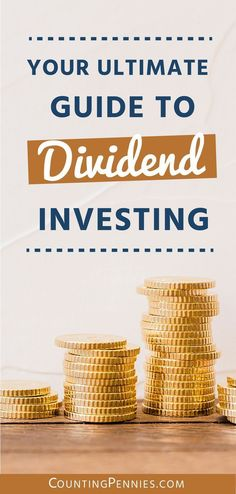 Your Ultimate Guide To Dividend Investing. In today's investment world, we are presented with a number of strategies we can employ to increase our n… - All About Real Estate Investment Fund, Investment Quotes, Real Estate Investing, Investment Group, Investment Property, Stock Market Investing, Investing In Stocks, Investing Money, Make Money Today
