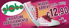 Le mitiche scarpine Hello Kitty a soli € 12,90....