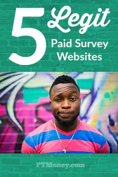 5 Legit Paid Survey Sites to Make Some Extra Money There are a lot of scams out there. But the follo Legit Paid Surveys, Surveys That Pay Cash, Online Surveys For Money, Make Money Online, Online Income, Online Earning, Online Survey Sites, Survey Sites That Pay, Online Jobs