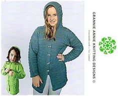 Duffle Coat knitting pattern