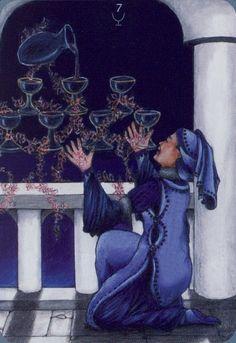 Seven of Cups - Anna.K Tarot by Anna Klaffinger