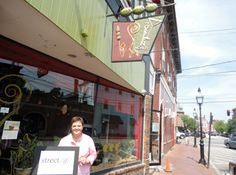 """""""Street.life is a celebration of the Portsmouth community! And it's also the Chamber's 95th Birthday!""""  Deb Weeks,   Owner of the Green Monkey Restaurant"""
