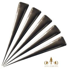 natural henna cones