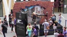 The Wizarding World   Diagon Alley 3D stunt time lapse video