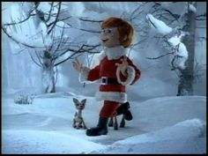Little pick-me-up jingle for you.    From the stop-motion animated Christmas classic - Santa Claus is Coming to Town, Here's put One Foot in Front of the Other.