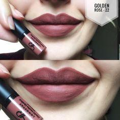 "1,919 Likes, 33 Comments - Golden Rose Cosmetics (@goldenroseofficial) on Instagram: ""Oldukça geniş renk çeşitine sahip Longstay Liquid Matte Lipstick / mini serimizin 3 güzel rengine…"""