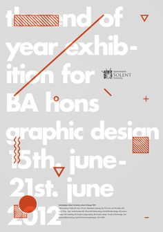 Exhibition poster by Magnus Henriksen.