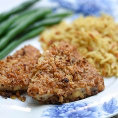 This Crispy Onion Chicken is golden brown and crispy on the outside and super tender on the inside. A delicious, family-friendly meal! Grilling Recipes, Cooking Recipes, Cooking Games, Grandma's Recipes, Turkey Recipes, Healthy Recipes, Valerie's Kitchen, Onion Chicken, Garlic Chicken