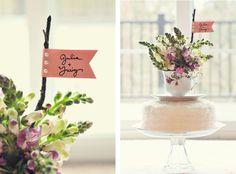 Wedding DIY: Vintage Teacup Cake Topper- interesting!