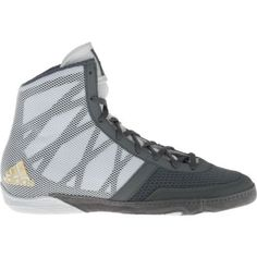 Adidas Men's Pretereo III Wrestling Shoes (Grey/White, Size 9.5) - Wrestling Footwear Shoes at Academy Sports