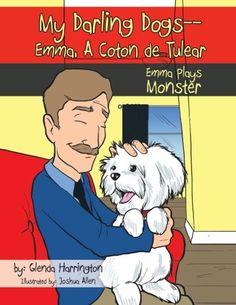My Darling Dogs - Emma, A Coton de Tulear by Glenda Harrington.