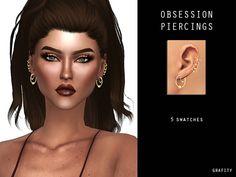 OBSESSION PIERCINGS at Arthurlumierecc – AL • Sims 4 Updates