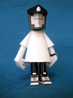 Blog Paper Toy papertoy ESSEVATILLO pic5 ESSEVATILLO   Papertoy Open Source
