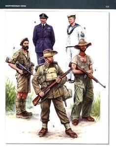 New Zealand troops British Army Uniform, British Uniforms, Ww2 Uniforms, Military Art, Military History, Anzac Soldiers, 40k Armies, Royal Australian Navy, Naval History