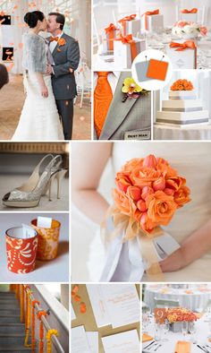 #orange #wedding
